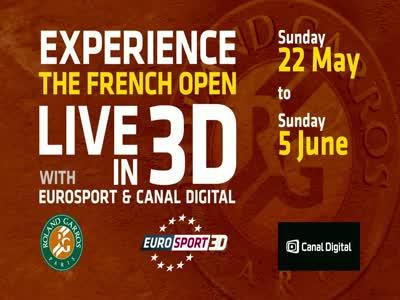 ظهور قناة : Eurosport 3D على القمر  Astra 1G, 31.5°E
