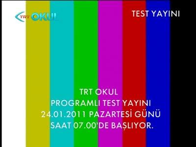 ������ ������ ��� ��� Eutelsat 7A, 7�E- ���� TRT Anadolu- ���� TRT Avaz- ���� TRT Okul- ������ ����